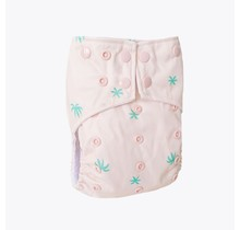 Palm Tree One-Size Snap Pocket Diaper