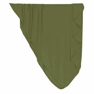 Olive Bamboo Swaddle Blanket