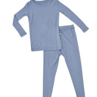 Slate Bamboo 2-Piece Pajama Set