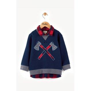 Hatley Hatley Plaid Lumber & Axes Fooler Sweater
