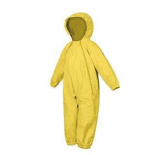 Yellow Splashy Breathable Nylon Rain Suit