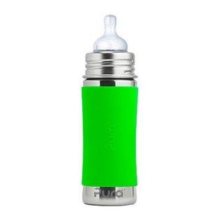 Pura Kiki Pura 11oz Baby Bottle with Green Sleeve