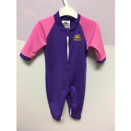 NoZone Purple Preppy Pink Fiji Baby Suit