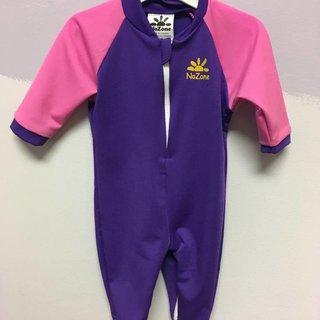Purple Preppy Pink Fiji Baby Suit