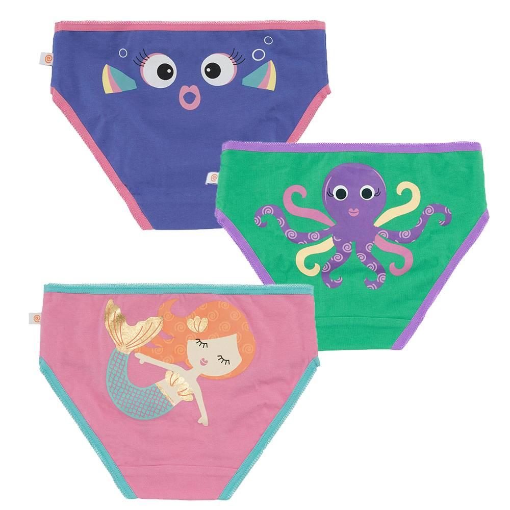 1d99c9dbef9 Zoochini Organic Girls Underwear, Coral Carribean - Sweetpea