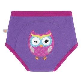Zoochini Training Pant Single, Olive Owl