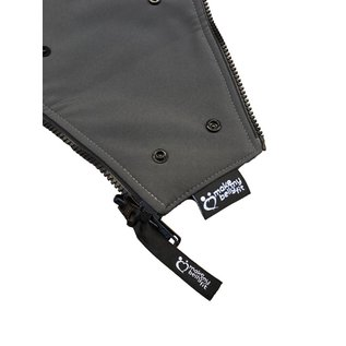 Make My Belly Fit BellyFit Jacket Extender, Charcoal