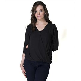 Momzelle Nursing Top JESSICA, Black