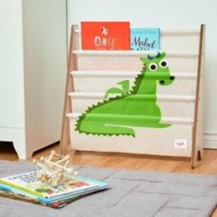 3 Sprouts Book Rack, Dragon