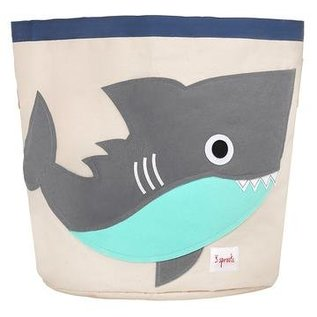 3 Sprouts Toy Bin, Shark
