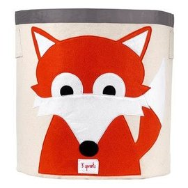3 Sprouts Toy Bin, Fox