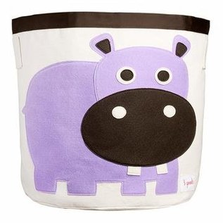 3 Sprouts Toy Bin, Hippo