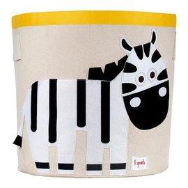 3 Sprouts Toy Bin, Zebra
