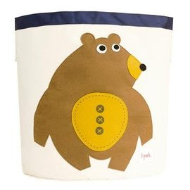 3 Sprouts Toy Bin, Bear