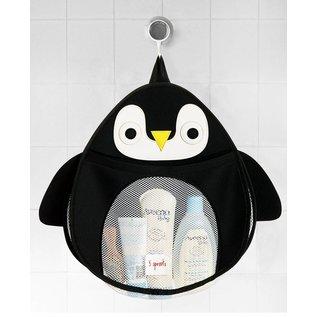 3 Sprouts Bath Storage, Penguin