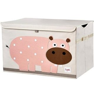 Toy Chest Pink Hippo