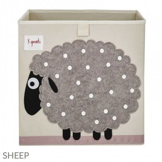 3 Sprouts Storage Box, Sheep