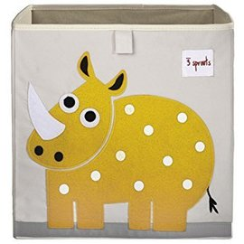 3 Sprouts Storage Box, Rhino