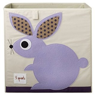 3 Sprouts Storage Box, Rabbit