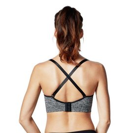 Bravado Body Silk Seamless Yoga, Charcoal Heather