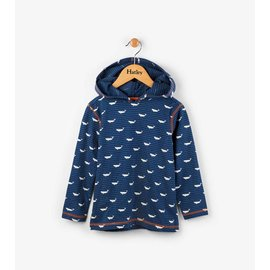 Hatley Tiny Whales Hooded Tee