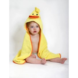 Zoochini Puddles the Duck Baby Towel