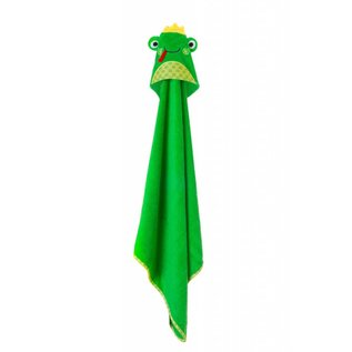 Zoochini Flippy the Frog Baby Towel