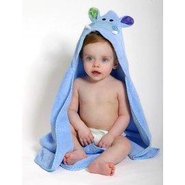 Zoochini Henry the Hippo Baby Towel