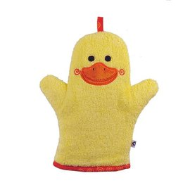 Zoochini Puddles the Duck Bath Mitt