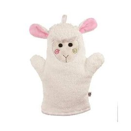 Zoochini Lola the Lamb Bath Mitt