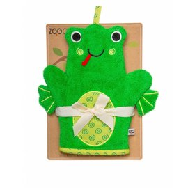 Zoochini Flippy the Frog Bath Mitt