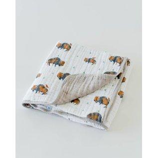 Little Unicorn Bison Cotton Muslin Quilt