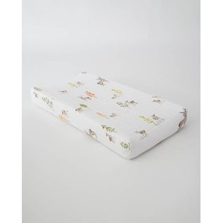 Little Unicorn Oh Deer Cotton Muslin Changing Pad Cover