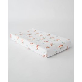 Little Unicorn Fox Cotton Muslin Changing Pad Cover