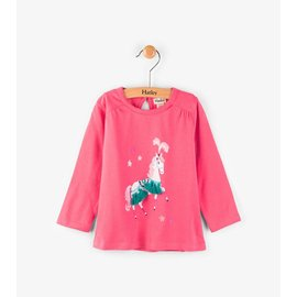 Hatley Parade Horses Long Sleeve Mini Tee