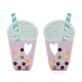 Loulou Lollipop Milk Tea Teether Single
