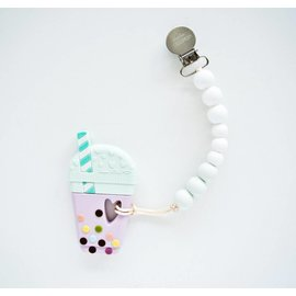 Loulou Lollipop Milk Tea Teether, Mint
