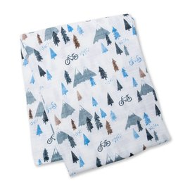 Lulujo Mountain Top Cotton Muslin Swaddle