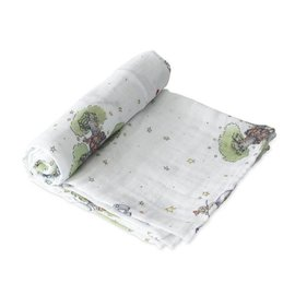 Little Unicorn The Little Prince Muslin Swaddle