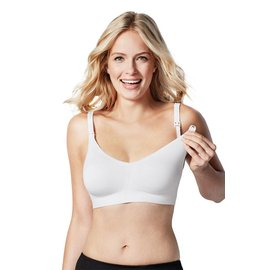 Bravado Body Silk Seamless Nursing Bra, White