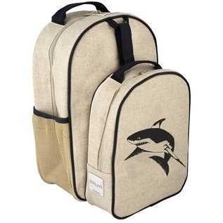 SoYoung Black Shark Raw Linen Little Lunchbox