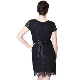 Momzelle Black Nursing Dress, ELLA