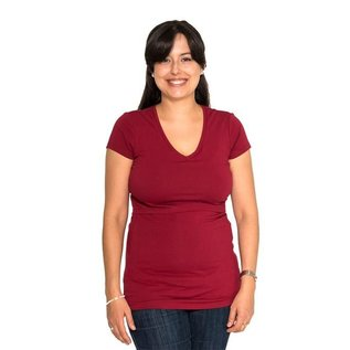 Momzelle Red Nursing Top CHRISTINE