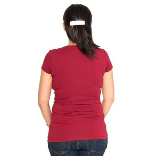 Momzelle Nursing Top, CHRISTINE, Red
