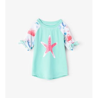 Hatley Ocean Treasures Short Sleeve Rash Guard