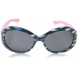Little Blue House Pink Whales Sunglasses