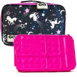 Go Green Unicorn Leakproof Lunchbox Set