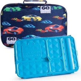 Go Green Fast Flames Leakproof Lunchbox Set