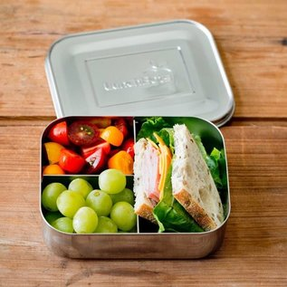 Lunchbots Trio 2 Stainless Bento Lunch Box