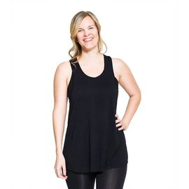 Momzelle Nursing Top, TINA, Black